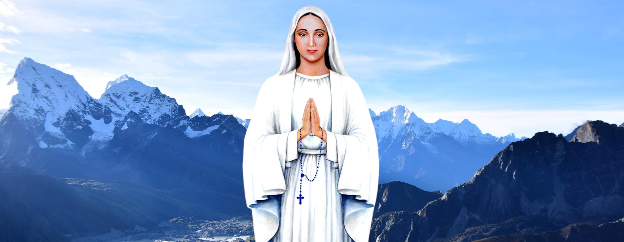 Notre Dame d'Anguera (Bahia, BRESIL) ... Ses messages donnés à Pedro Régis. Default